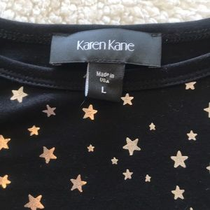 Karen Kane Tops - Asymmetrical Star Shirt